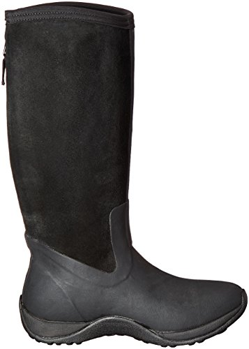 MuckBoots Zip Snow Artic Women's Adventure Suede Black wqwHAx7nzv