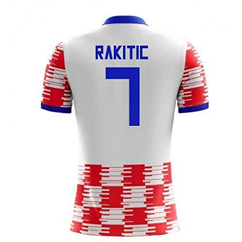 Airosportswear 2018-19 Croatia Home Concept Football Soccer T-Shirt Jersey (Ivan Rakitic 7) - Kids