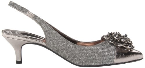 J.renee Womens Estee Dress Pump In Peltro