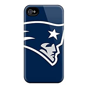 Excellent Iphone 4/4s Cases Covers Back Skin Protector New England Patriots Logo