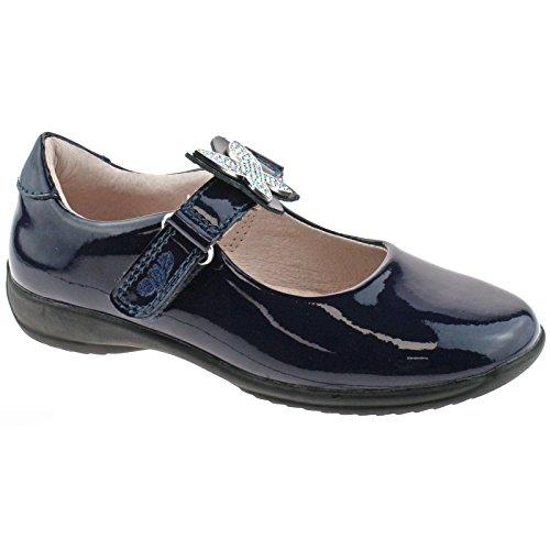 Lelli Kelly LK8305 (DE01) Angel Navy Blue Patent School Shoes F Fitting-30 (UK 12)