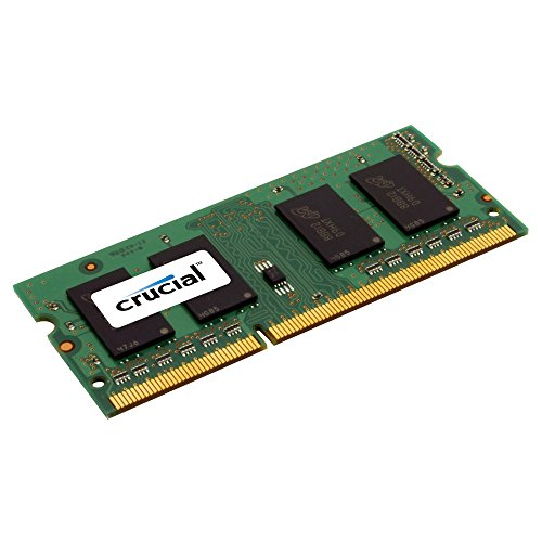 Crucial-4GB-Single-1600MHz-PC3-12800-CL11-204-Pin-SODIMM-DDR3L-SDRAM-Memory-CT51264BF160BJ