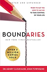 Boundariesis the book that's helped over 2 million people learn when to say yes and know how to say no in order to take control of their lives.Does your life feel like it's out of control? Perhaps you feel like you have to say yes to everyon...