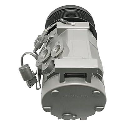 RYC Remanufactured AC Compressor and A/C Clutch AEG325: Automotive
