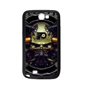 Custom Unique Design NHL Philadelphia Flyers Samsung Galaxy Note 2 Silicone Case