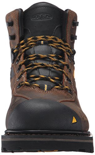 Keen Utility Mens Tacoma Soft Toe WP Work Boot, Cascade Brown, 13 M US
