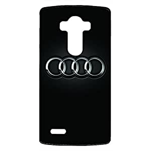 Audi Phone Cover,Luxury Car Phone Cover,Hard Plastic Phone Cover,LG G4 Phone Cover