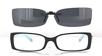 4c383c5d7a0 Image Unavailable. Image not available for. Color  TIFFANY TF2035-52X16 POLARIZED  CLIP-ON SUNGLASSES (Frame ...
