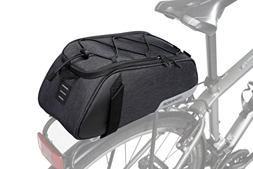 Roswheel Essentials Series 141465 Bike Pannier Bag Bicycle Rear Rack Trunk Pack, 7l Capacity