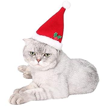 Winter Warm Für Claus Kleider Wintermantel Weplen Niedlich Kapuzenpullover Verstellbare Santa KostümLegendog Katze Katzen Welpen Weihnachten R54LqA3j
