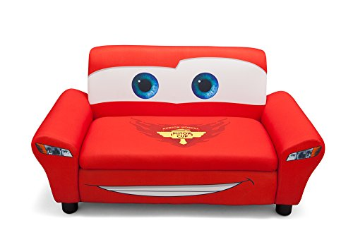 Delta Children's  Products Disney Pixar Cars Upholstered Sofa by Delta Children