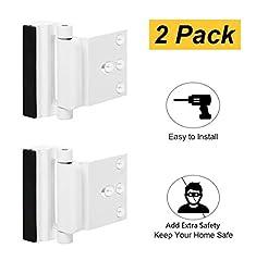 2 Pack Door Reinforcement Locks