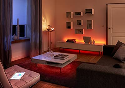 Philips Hue 1st Generation LightStrip Dimmable LED Smart Light (Older Model, Requires Hue Hub, Works with Alexa, Apple HomeKit, and Google Assistant)
