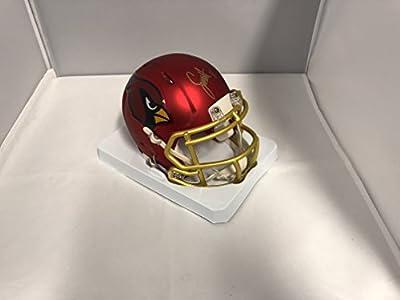 Larry Fitzgerald Signed Autographed Arizona Cardinals RARE BLAZE SPEED Mini Helmet COA & Hologram