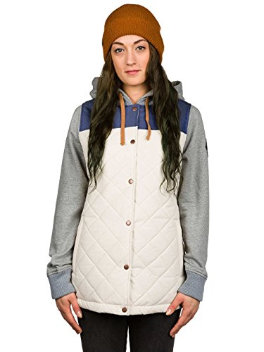 686 Parklan Autumn Insulated Jackt, Birch, Small (Ski Jacket Women 686)