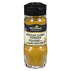 McCormick Gourmet, Premium Quality Natural Herbs & Spices, Medium Curry Powder, 45g