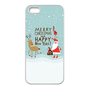 Merry Christmas fashion practical Phone Case for iPhone 5S(TPU)