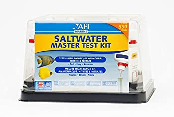 Api Saltwater Master Test Kit 550-test Saltwater Aquarium Water Test Kit 9