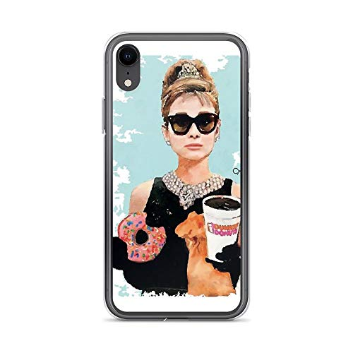 iPhone XR Pure Clear Case Cases Cover Breakfast at Tiffany's Digital Art