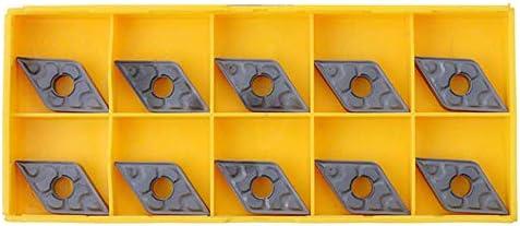 HYY-YY Karbid-Einsätze, 10Pcs CNC-Drehmaschine DNMG431-TF IC907 DNMG150404-TF IC907 Karbid-Einsätze Klinge Cut-Werkzeug