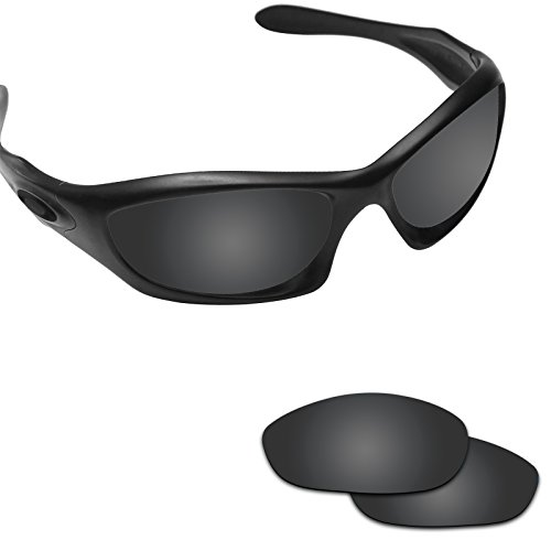 Fiskr Anti-saltwater Polarized Replacement Lenses for Oakley Monster Dog Sunglasses