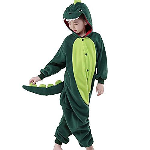 Ruiuzioong Eenhoorn Nachtkleding Onesie Pyjama Dier Unisex Kostuum Nachtpak voor Jongens Meisjes
