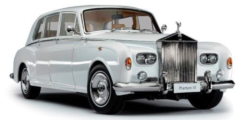 Rolls Royce Phantom VI White 1/18 Diecast Model Car by Kyosho 08905