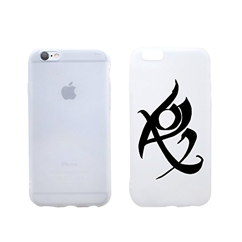 Shadowhunter Runes Fearless Clear Transparent Plastic Phone Case Phone Cover for Iphone 6PLUS 6sPLUS_ SUPERTRAMPshop (iphone 6 plus)