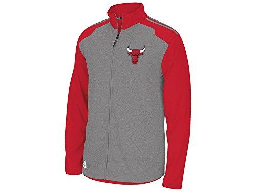 Chicago Bulls Adidas 2014 NBA Climawarm Full Zip Men's Fleece Jacket