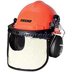 Echo OEM Chainsaw Safety Head Ear Protection Helmet 99988801500