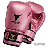 Proforce Thunder Boxing Gloves - Pink Metallic