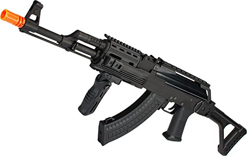 Evike G&P Contractor AK47 Airsoft AEG Rifle with Folding Stock (Package: Gun Only) -