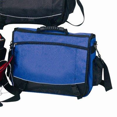 Preferred Nation The Monsoon Flap-Over Compucase Messenger Bag, Blue