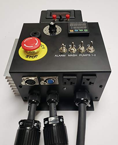 240v HERMS II (Heat Exchanged Recirculating Mash System) Home Brewery Controller by BREW-CONTROL (Image #1)