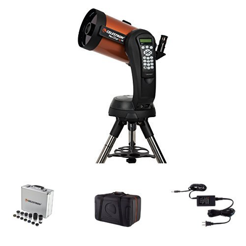 Celestron NexStar 6 SE Telescope w/ Accessory Kit, Carrying Case, and AC Adapter by Celestron