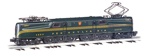 Williams by Bachmann GG-1 Electric - PRR #4859 - Brunswick Green 5-Stripe Train (O Scale)