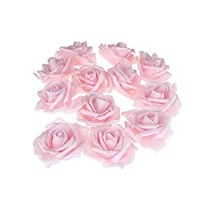 Homeford Foam Roses Flower Head Embellishment, 3-Inch, 12-Count 3