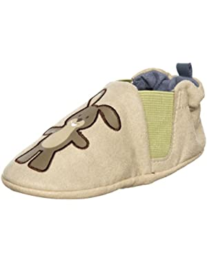 Infant Boys Tortoise & Hare- Blue/Tan. 0-6 Months