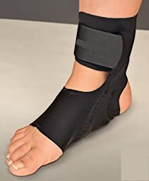 Premium Pneumatic Day Air Sock - A Massage like Compression that helps Reduce pain , Discomfort, and Swelling - while enhancing circulation For Plantar Fasciitis Heel pain and or Achilles Tendonitis