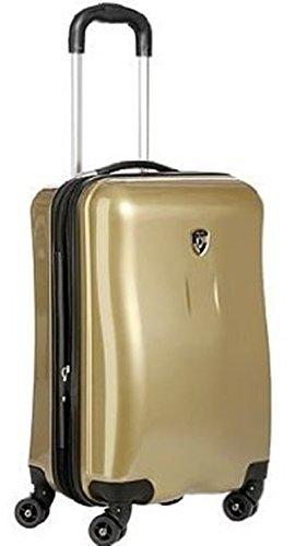 ... 50% SALE ... PREMIUM DESIGNER Hartschalen Koffer - Heys Novus Art Bronze Handgepäck