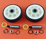 Appizz) New Maytag Dryer Roller Wheel Drum Support Kit 303373K 12001541 312948 (2 Pack)