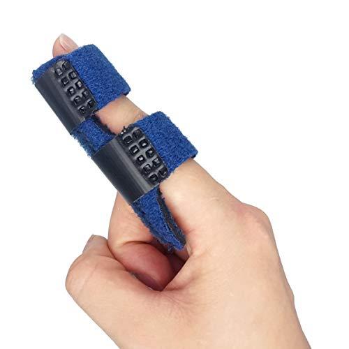 OSK Trigger Finger Splint Brace - Mallet Finger Brace for Broken Finger for Arthritis Pain (2 Pcs)
