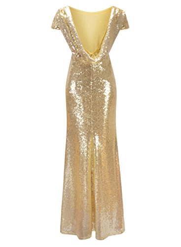 Sequined 2018 Trumpet Long Sexy Dress Women Solid Dresses Zipper Beaded Tunic Back Maxi BxAHwgOx