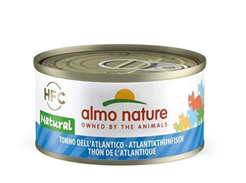 Almo Nature HFC Natural Katzenfutter – Atlantikthunfisch 24×70 g