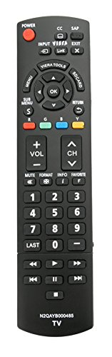 New N2QAYB000485 Replaced REMOTE fit for PANASONIC TV TC-P50