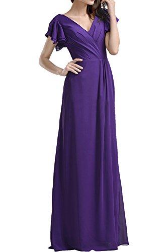Ivydressing - Vestido - trapecio - para mujer morado 42