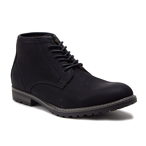 New Up Chukka Ankle Men's Style 17802 Leather Lace High Black Boots Lined Desert a0prawAq