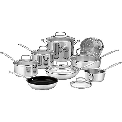 Cuisinart Chefs Classic Stainless 14 Piece