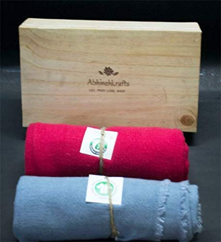 Amazon Com Mother S Day Gift Set Of Two Cashmere Scarves Colors