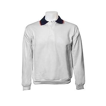 Jumar Sport - Sudadera básica Polo Bandera, Color: Gris, Talla: s ...